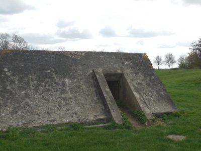 Bunker voor fort vechten