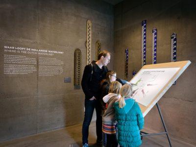 tekentafel Waterliniemuseum