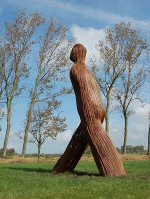 'Walking Willow man' by hester pilz